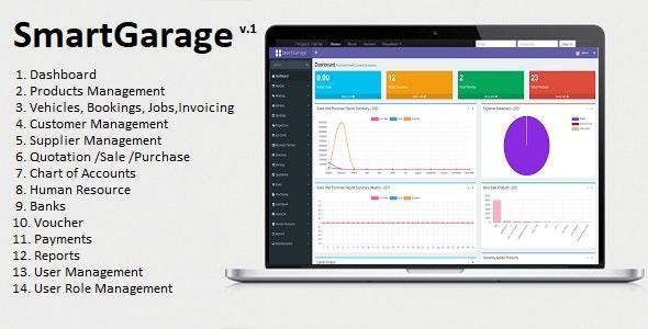 SmartGarage - Garage / Workshop Management System - CodeCanyon Item for Sale