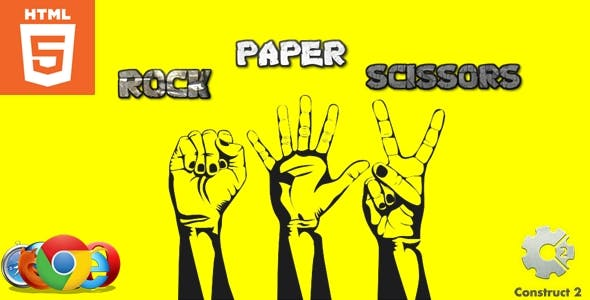 Rock Paper Scissors - HTML5 - Casual game