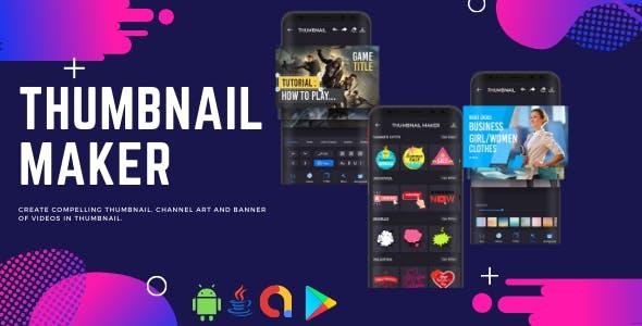 Thumbnail Maker & Channel Art Maker