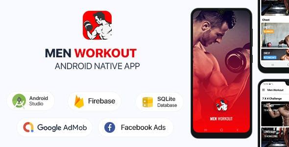 Men Workout - Android (Kotlin)