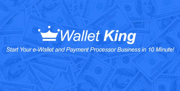 Wallet King - Online Payment Gateway with API - CodeCanyon Item for Sale
