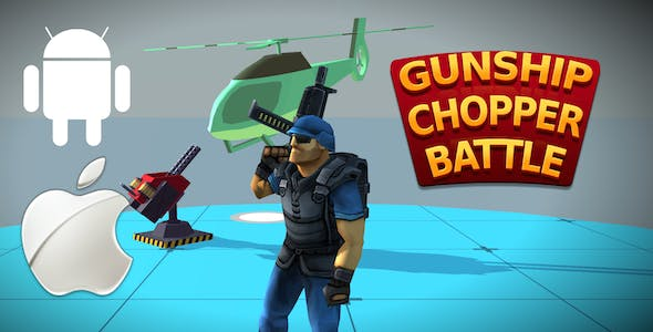Gunship Chopper Battle - Complete Unity Template Nulled