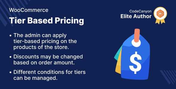 WooCommerce Tier Based Pricing - CodeCanyon Item for Sale