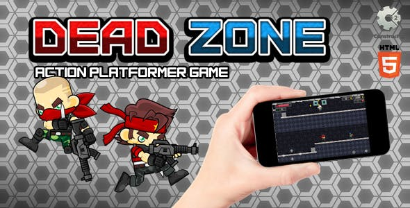 Dead Zone - Construct 2 Html5 Game