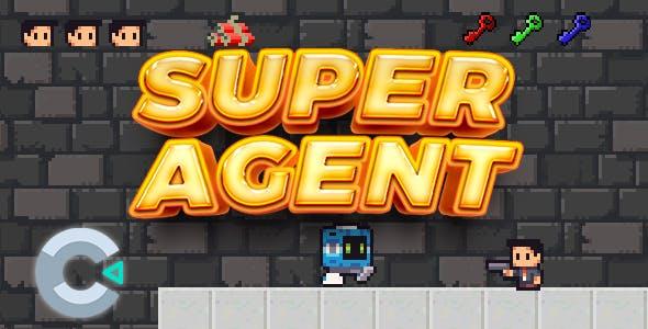 Super Agent - Construct 3 Game