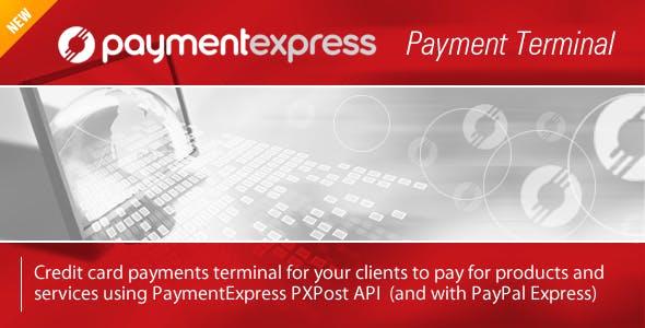 PaymentExpress Payment Terminal