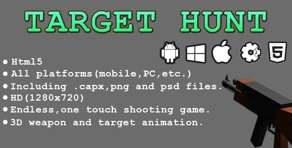 Target Hunt - HTML5 Game - Capx