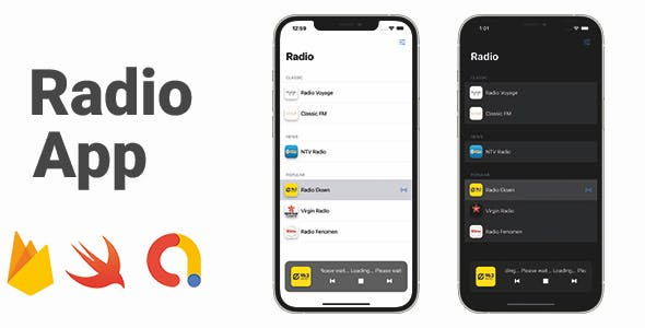 Radio App | Full iOS Application