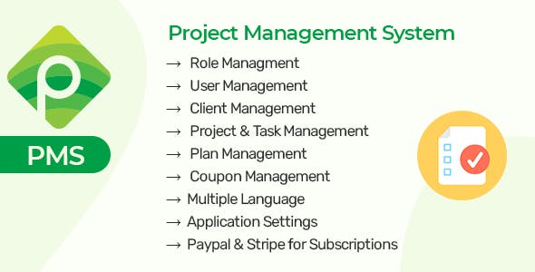 PMS Saas - Project & Task Managment System