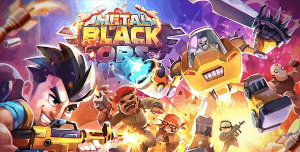 Metal Black Mercenary (Android + IOS)