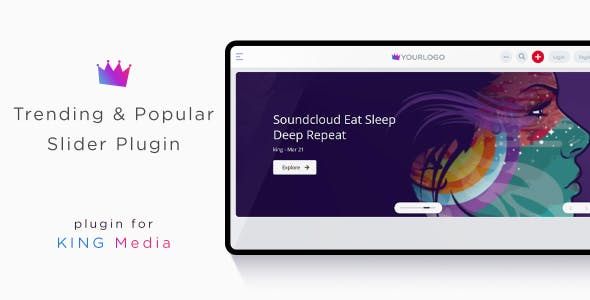 KING Media - Trending & Popular Slider Plugin