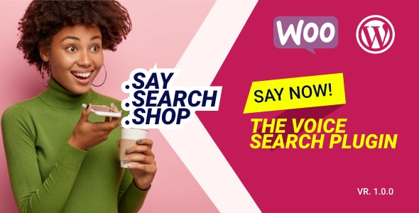 WooCommerce Voice Search Plugin - CodeCanyon Item for Sale