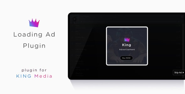 KING Media -  Loading Ad Plugin - CodeCanyon Item for Sale