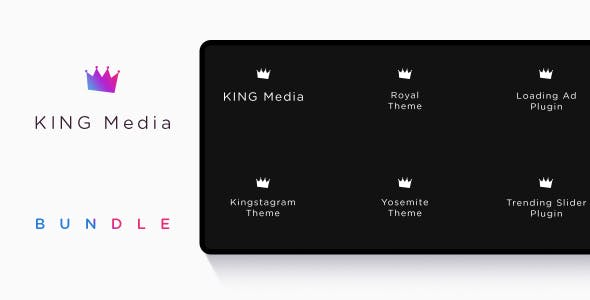 KING Media Bundle - Viral Magazine Script