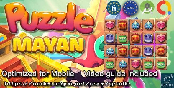 Puzzle Mayan (Admob + GDPR + Android Studio)
