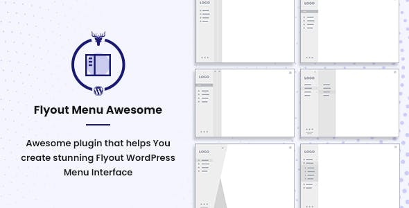 Vertical Slide Menu WordPress Plugin - Flyout Menu Awesome