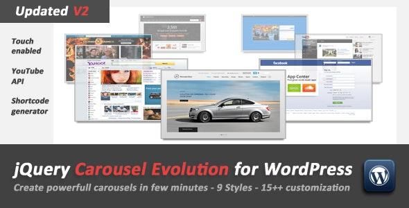 jQuery Carousel Evolution for WordPress - CodeCanyon Item for Sale