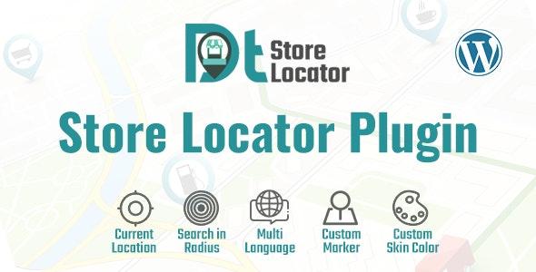 DT - Store Locator WordPress Plugin - CodeCanyon Item for Sale