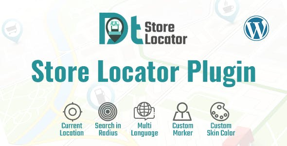 DT - Store Locator WordPress Plugin