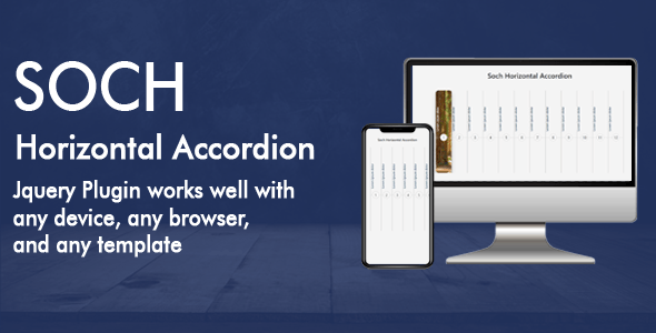 Soch Horizontal Accordion - CodeCanyon Item for Sale