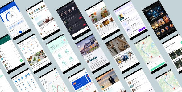 ionic 5 template bundle  / ionic 5 themes bundles / ionic 5 templates with 10+ apps