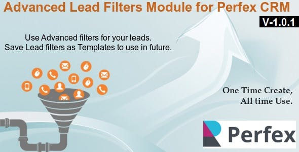 Advanced Lead Filters Module for Perfex CRM