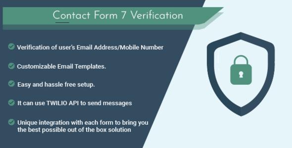 Contact Form 7 Verification