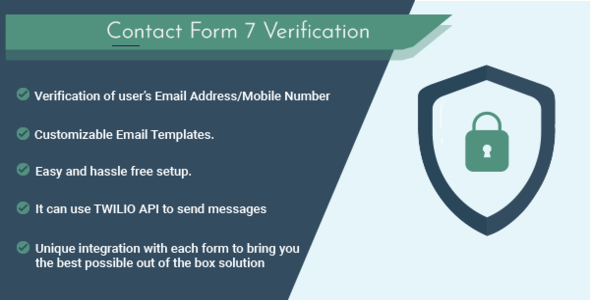 Contact Form 7 Verification - CodeCanyon Item for Sale