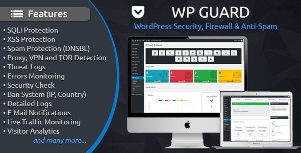 WP Guard - Security, Firewall & Anti-Spam plugin for WordPress - CodeCanyon Item for Sale