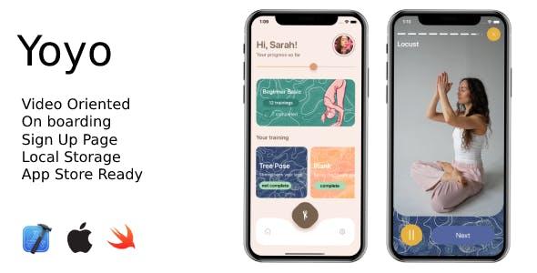 Yoyo - iOS Yoga App