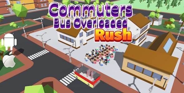 Commuters Bus OverLoaded Rush - Complete Unity Game