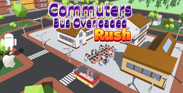 Commuters Bus OverLoaded Rush - Complete Unity Game - CodeCanyon Item for Sale
