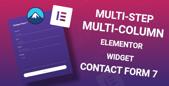 Elementor Widget for Contact Form 7