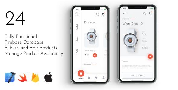 24 - iOS E-Commerce App