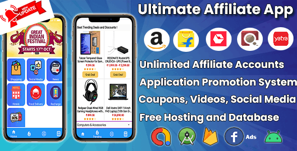 All In One Affiliate App | Ultimate Affiliate - CodeCanyon Item for Sale