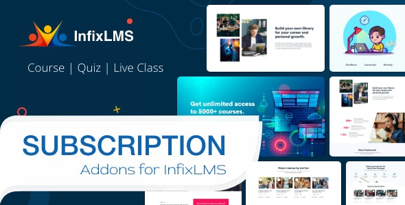 Subscription - InfixLMS Module - CodeCanyon Item for Sale
