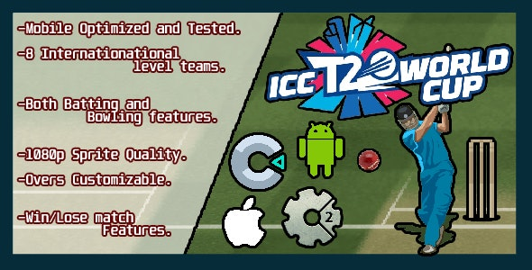 ICC T20 WORLDCUP (CAPX+C3P+HTML5) - CodeCanyon Item for Sale