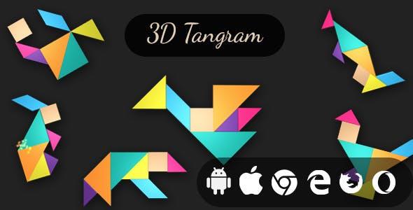 3D Tangram - Cross Platform Realistic Puzzle Game