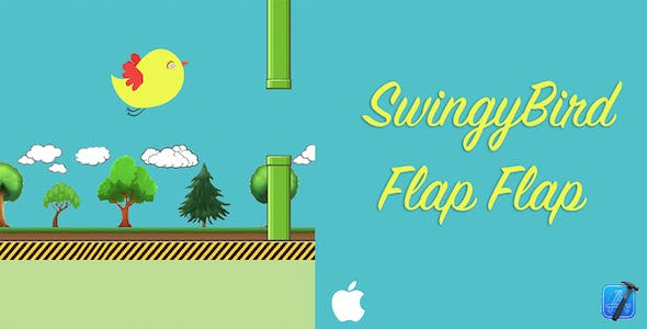 Swingy Bird - Flappy Flappy - iOS Source Code