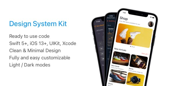 Design System Kit for iOS