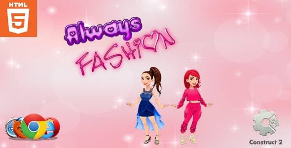 Always Fashion - Dress up game - HTML5 - CodeCanyon Item for Sale