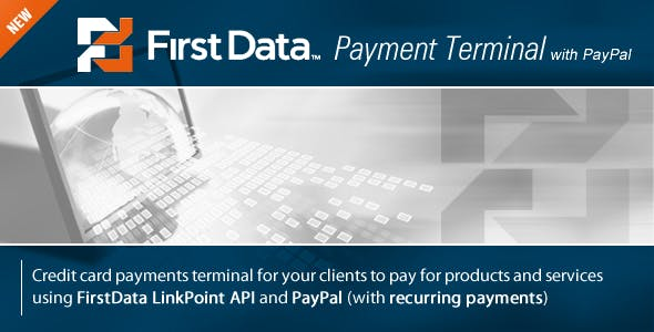 FirstData (LinkPoint) Payment Terminal
