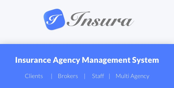 Insura | Insurance Agency Management System - CodeCanyon Item for Sale