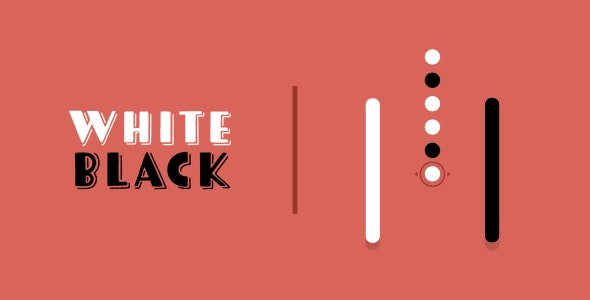 White Black | HTML5 | CONSTRUCT 3 - CodeCanyon Item for Sale
