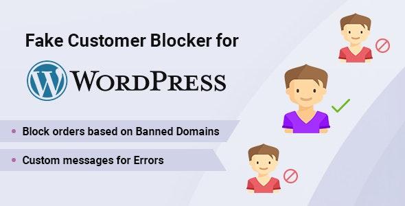 Fake Customer Blocker for WordPress - CodeCanyon Item for Sale