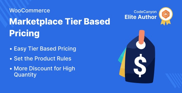 Marketplace Tier Based Pricing for WooCommerce - CodeCanyon Item for Sale