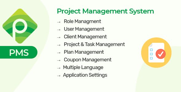 PMS - Project & Task Managment System