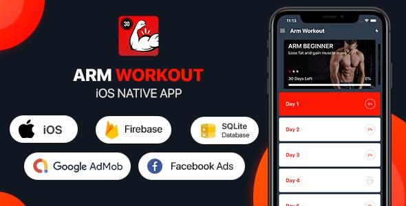 Arm Workout - iOS App
