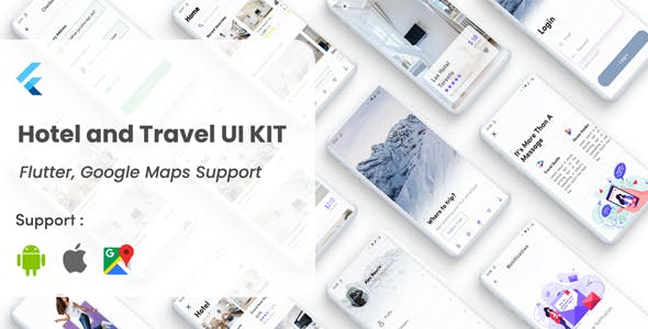 Flutter Hotel booking and Tour Travel Template in Flutter hotel apps