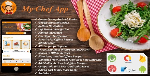 My Chef - Android Recipes App